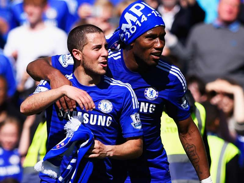 Hazard: Drogba convinced me to join Chelsea