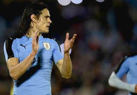 Uruguay 3-1 Trinidad & Tobago: Cavani double