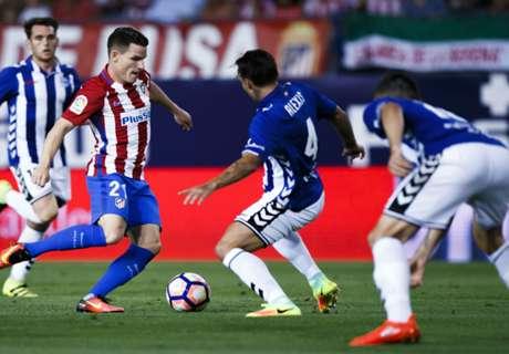 Report: Atletico Madrid 1-1 Alaves