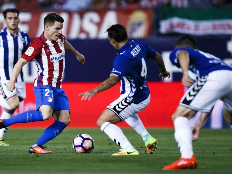 Atletico Madrid crush Alaves to retain faint La Liga title ...  |Atlético Madrid--alavés