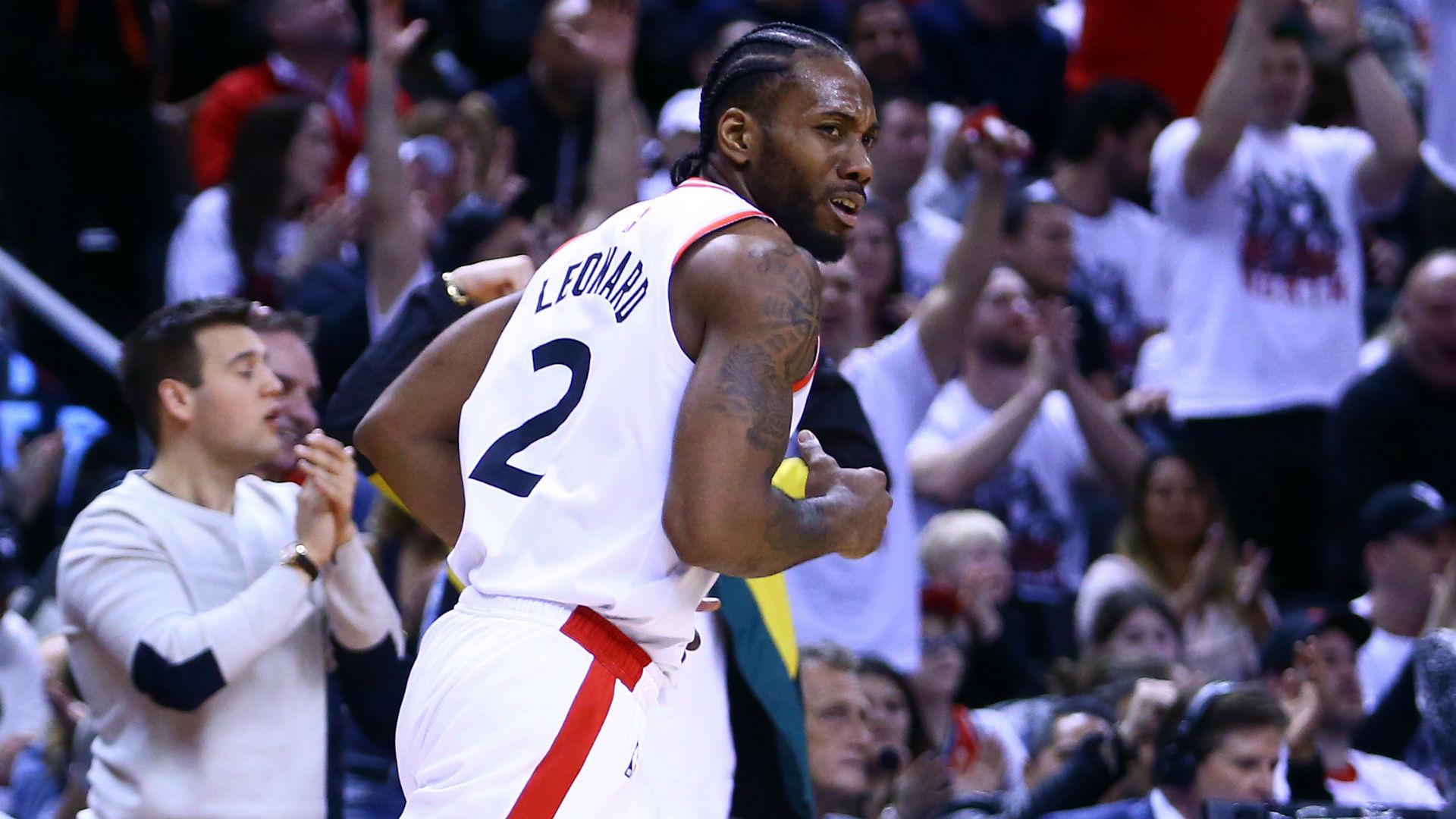 NBA playoffs 2019: Raptors' Nick Nurse praises Kawhi Leonard's 'big-time' performance