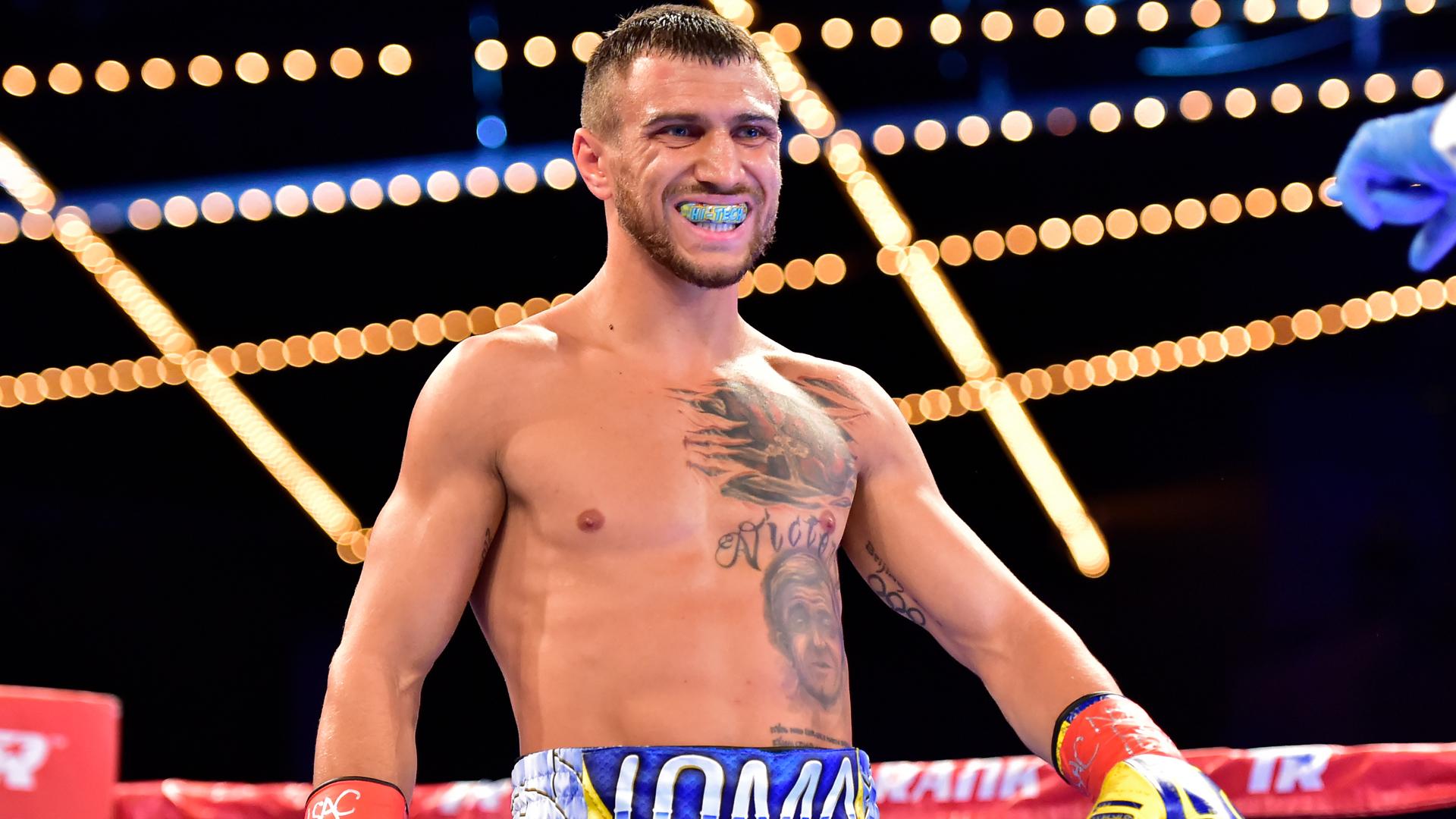 Vasyl Lomachenko makes history with TKO win over Jorge Linares