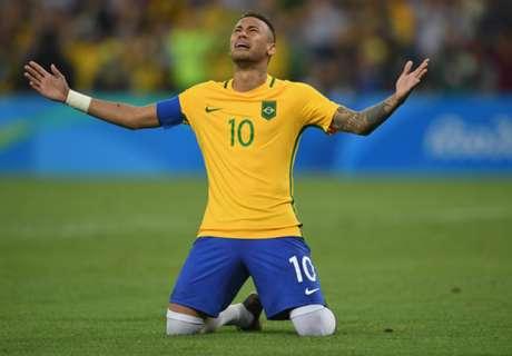 Pique hails Neymar after Olympics