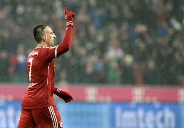 Franck Ribery Absen Kontra Arsenal