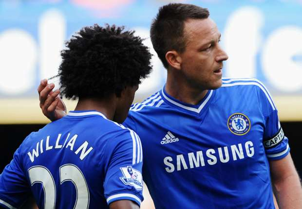 Willian expects 'greatest ever' Terry to leave Chelsea