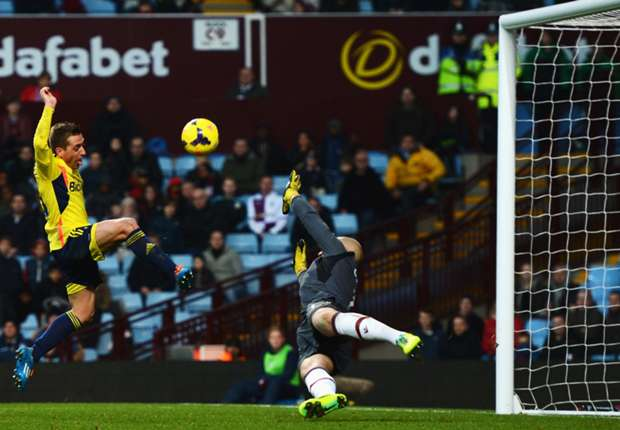 Aston Villa 0-0 Sunderland: Draw takes Black Cats off the bottom