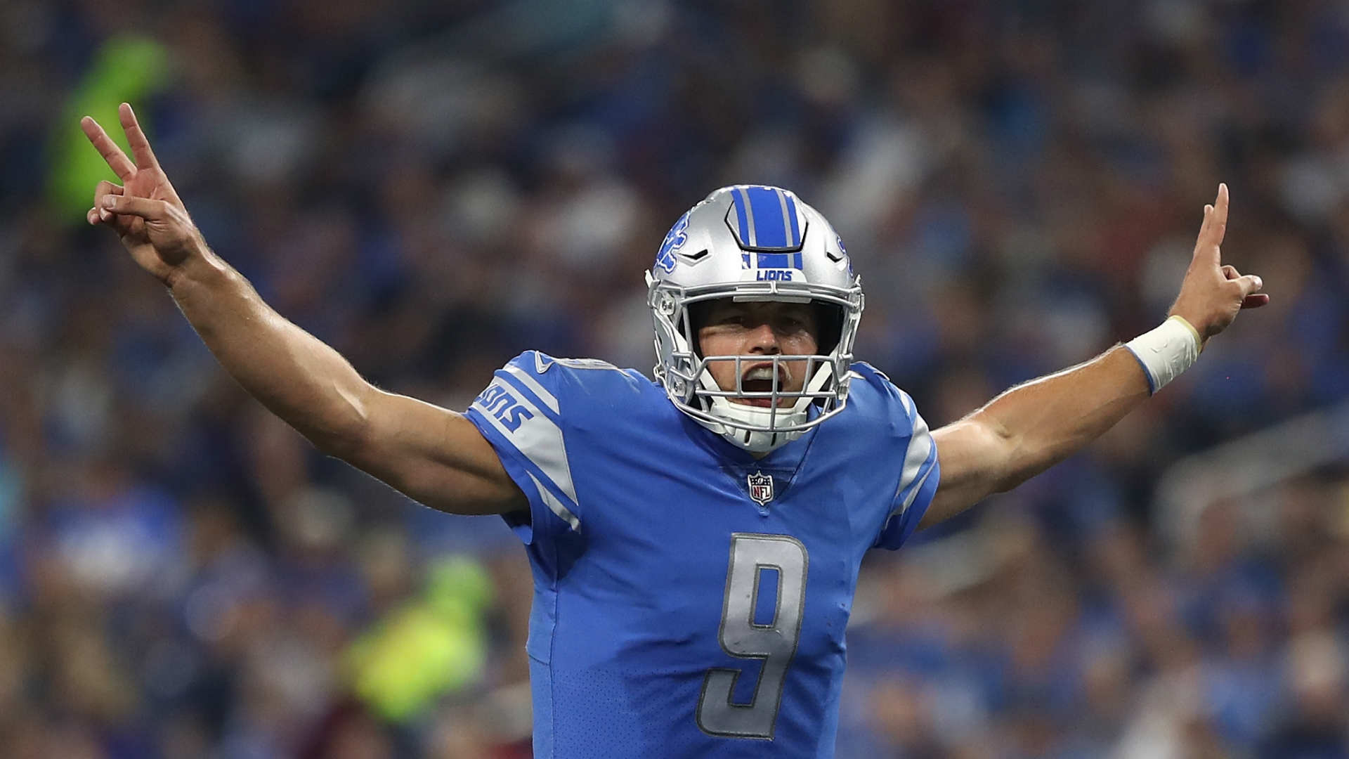 Loose and aggressive Matthew Stafford continues to be clutch for