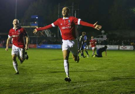 Salford City through in FA Cup shock