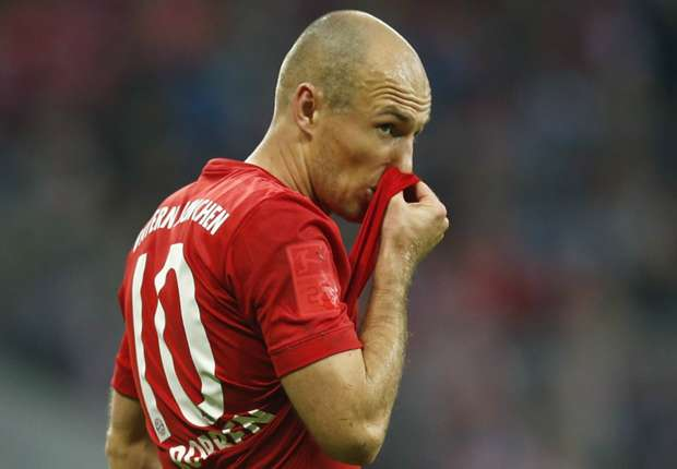 Bayern confident Robben will sign new contract