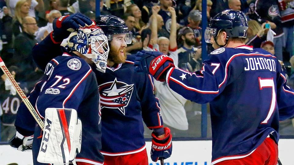 Stanley Cup playoffs three stars: Blue Jackets press pause on swan ...