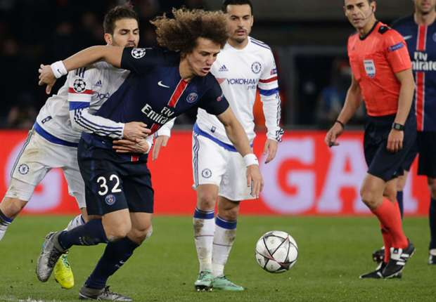 David Luiz: PSG could have scored more against Chelsea