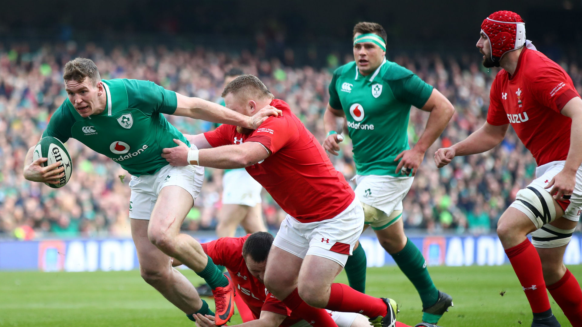 Six Nations: Farrell starts for Ireland at Scotland
