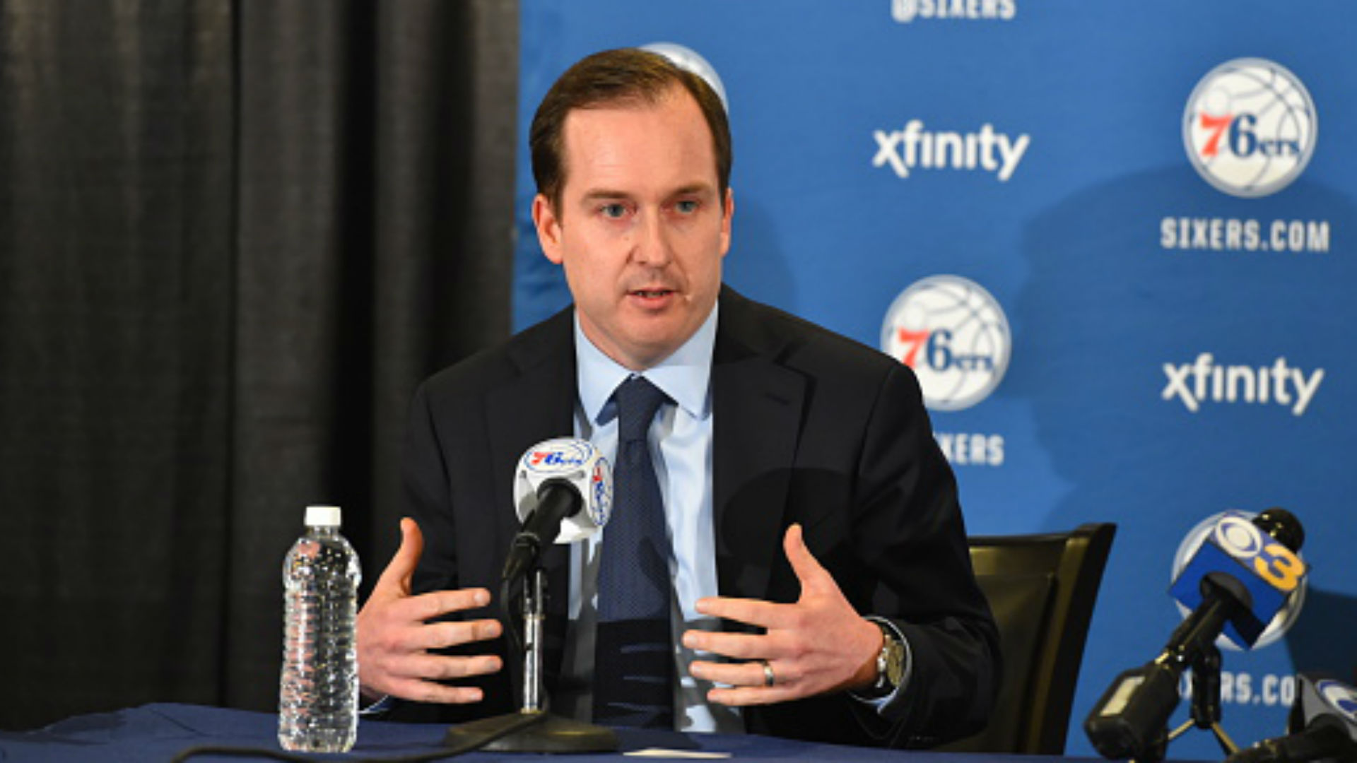 Former 76ers GM Sam Hinkie meets with Broncos, provides analytics advice, report says