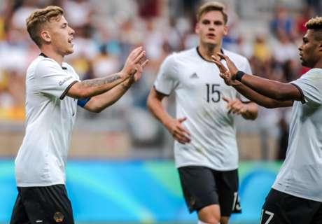 Germany hit Fiji for TEN goals