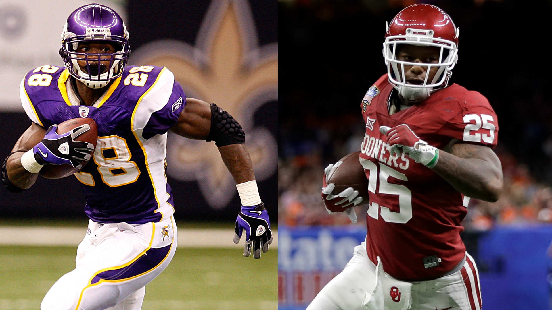 Bengals rookie Joe Mixon to work out with Saints RB Adrian Peterson