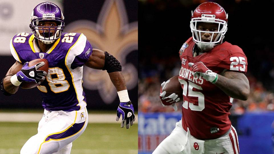 Joe mixon says hell train with adrian peterson this summer nfl peterson mixon 060617 usnews getty ftr adrian peterson voltagebd Choice Image