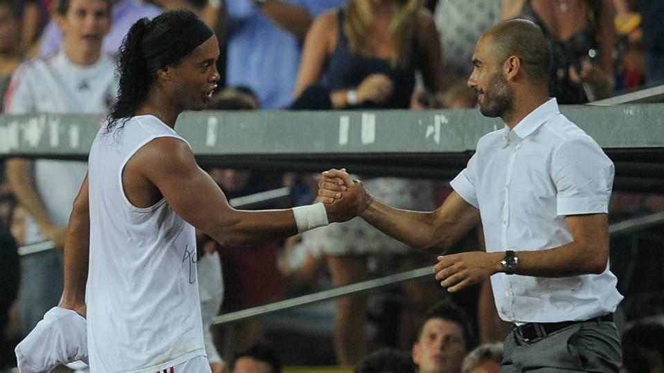 Ronaldinho Guardiola - cropped