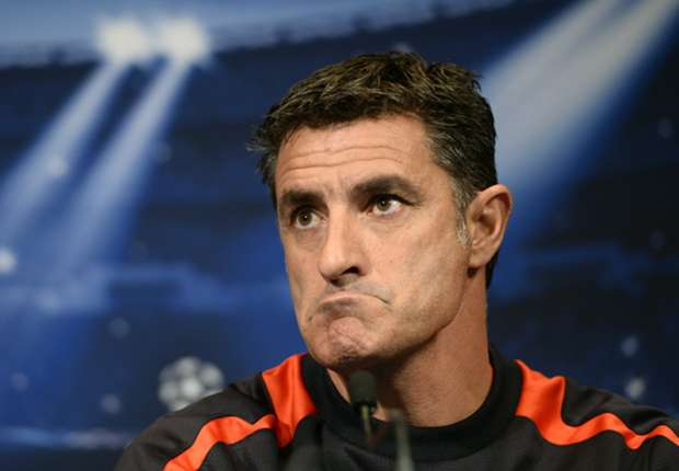 Michel confident Olympiakos can trouble Manchester United
