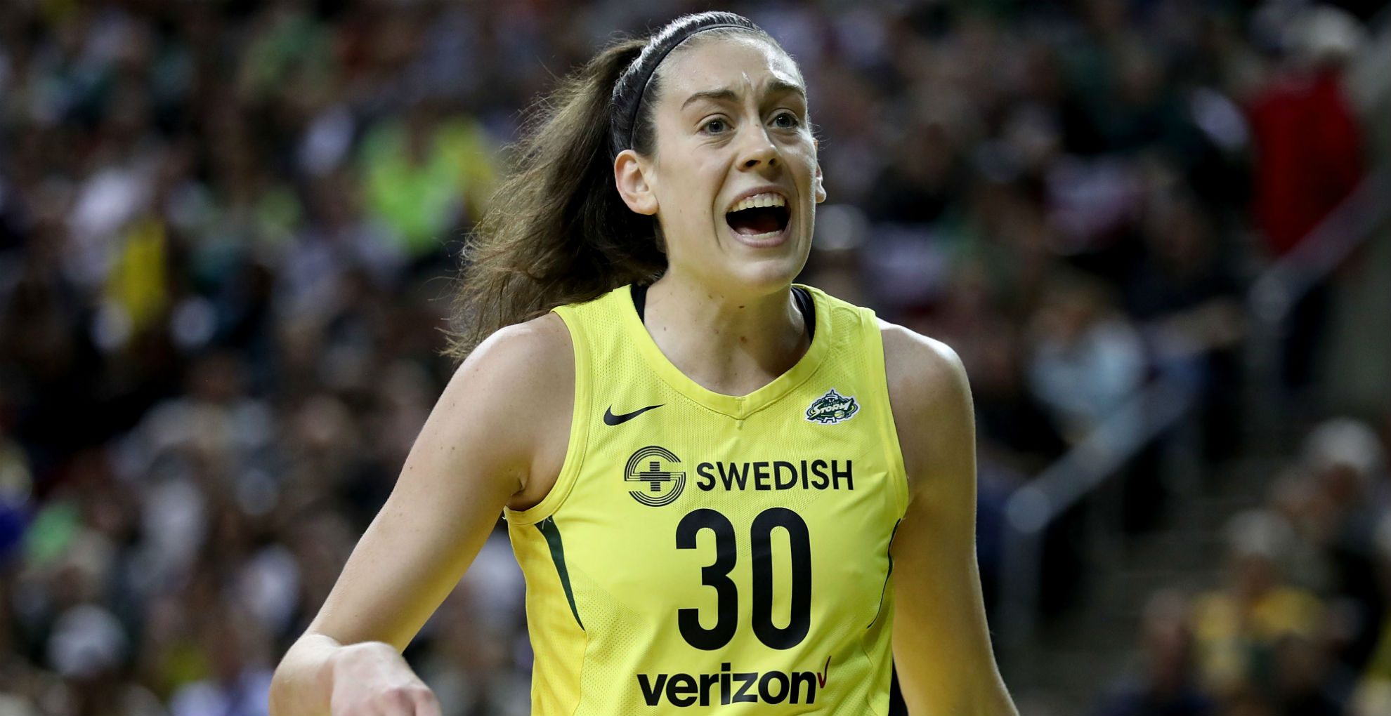 WNBA MVP Breanna Stewart tears Achilles' tendon in right leg