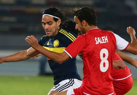 Falcao scores in Colombia win
