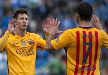 Messi, Arda available for Barcelona