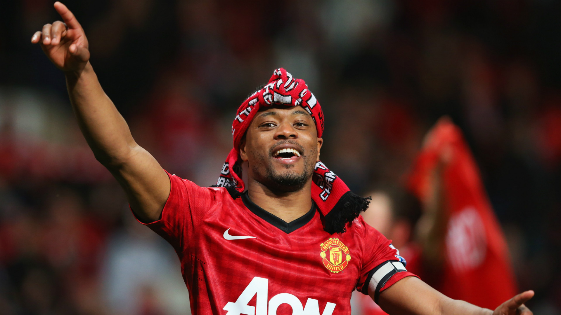 Evra starts working towards coaching badges at Manchester United
