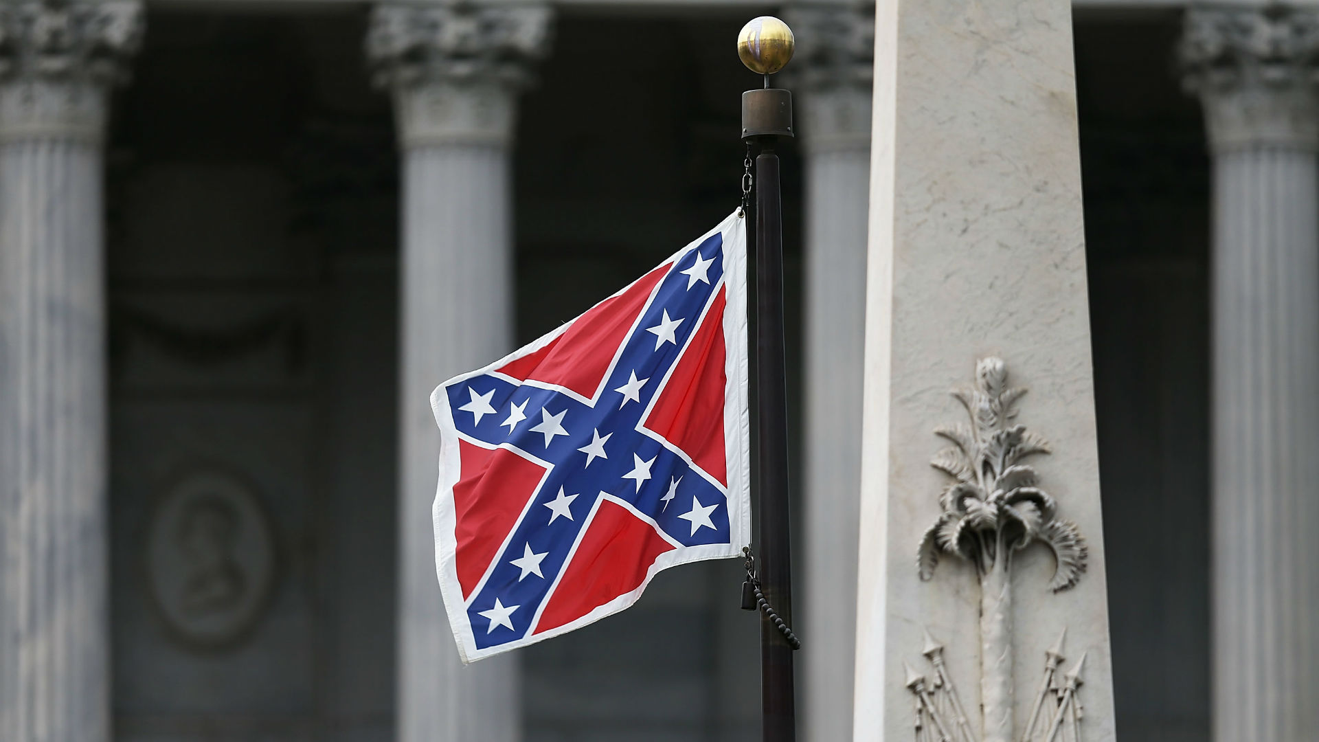 Confederate flag at S.C. State House