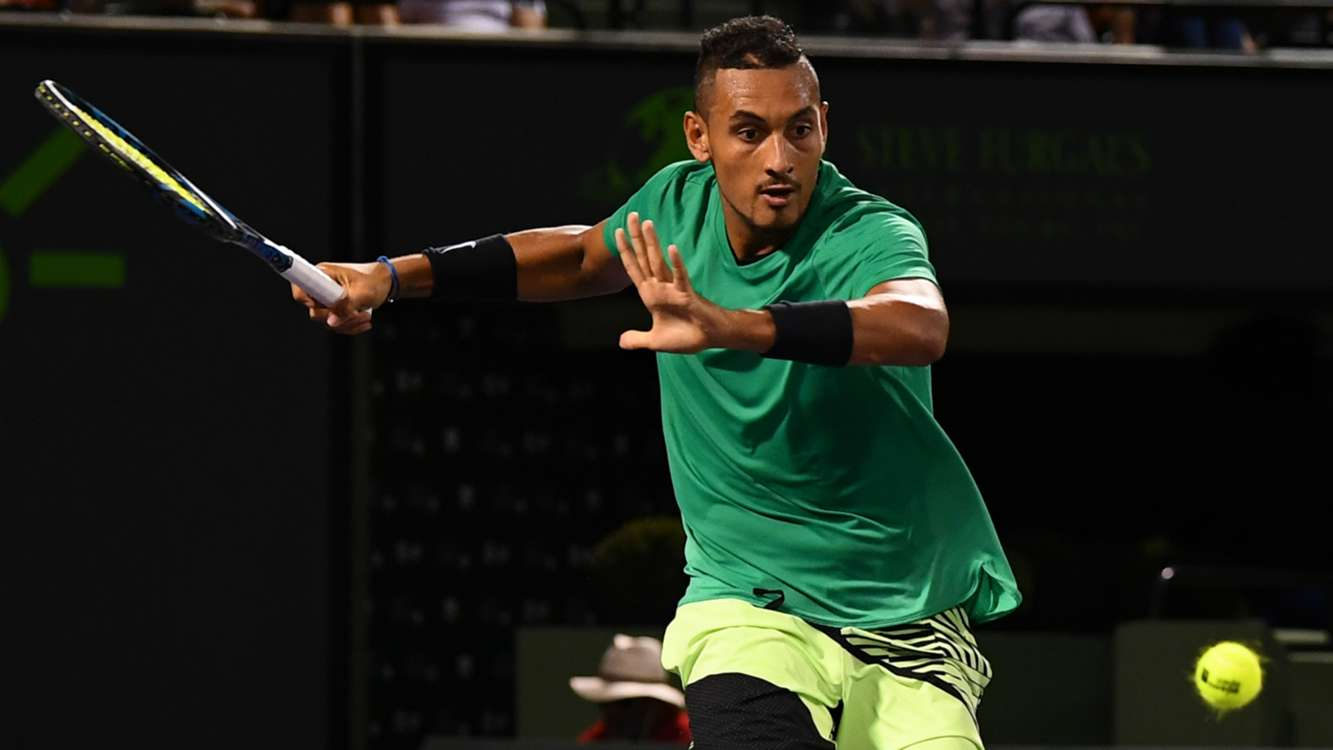 WATCH: Nick Kyrgios plays brilliant tweener in thrilling victory, Federer next