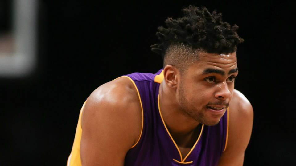 """Kings """"Trying To Land"""" D'Angelo Russell From Lakers"""
