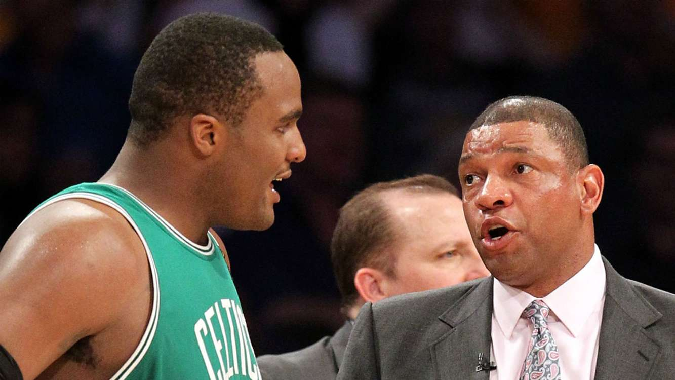 Glen 'Big Baby' Davis discredits Doc Rivers' 'lucky as hell' title with Celtics