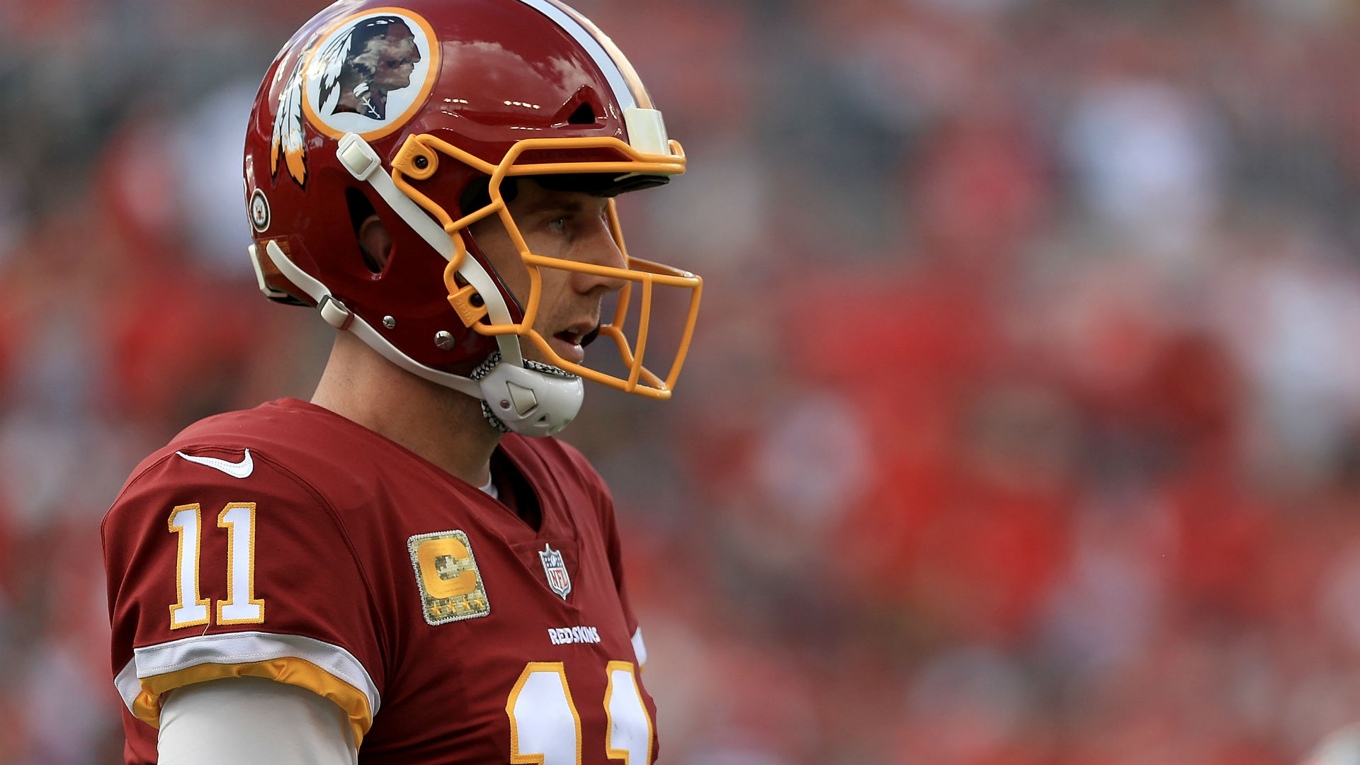 Alex Smith Makes 1st Appearance Since Gruesome Injury & His Leg Looks Horrifying