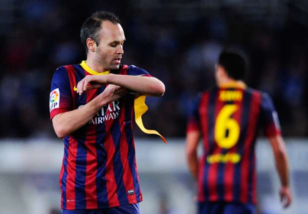 Barcelona are with Martino 'to death' - Iniesta
