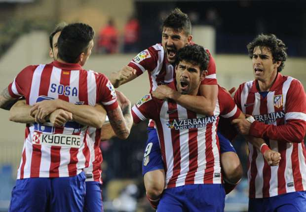 Simeone hails 'marvellous' effort of Atletico players