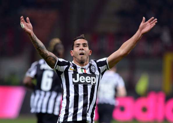Tevez: Milan win vital in Scudetto race