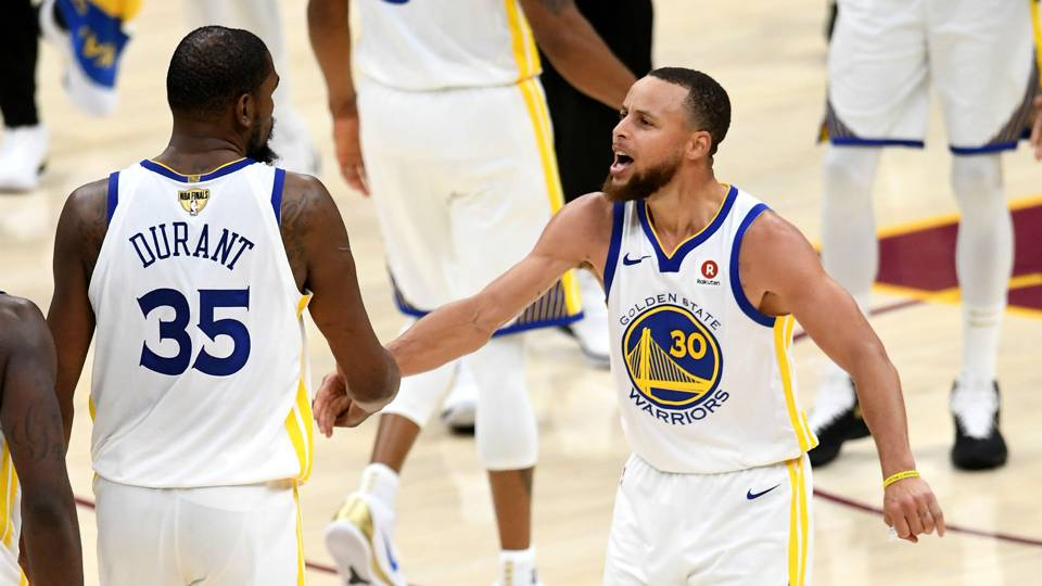 Stephen Curry lauds 'amazing' Warriors teammate Kevin ...