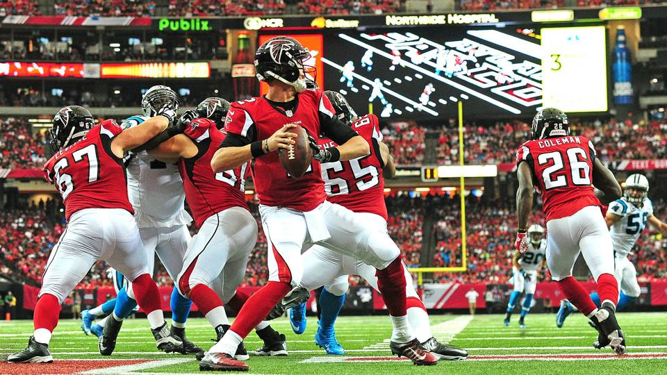 Atlanta Falcon Wallpapers Group 60: Matt Ryan, Julio Jones Shred Panthers Defense In 48-33 Win
