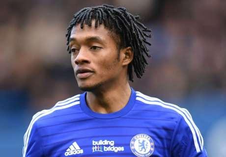 Agent: Cuadrado happy at Chelsea