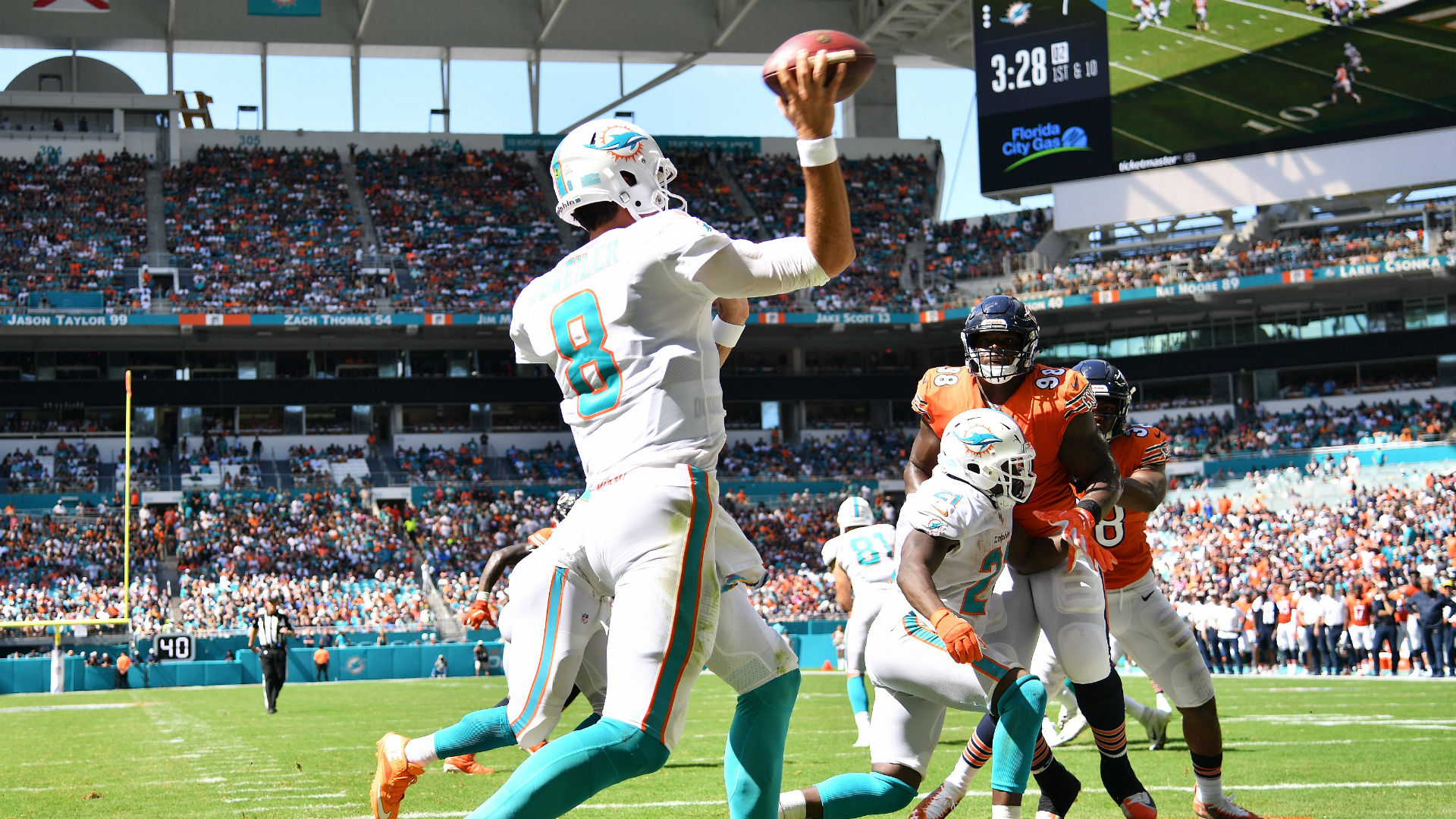 Dolphins QB Brock Osweiler to start Sunday, sparks '#Brocktober' hashtag on Twitter