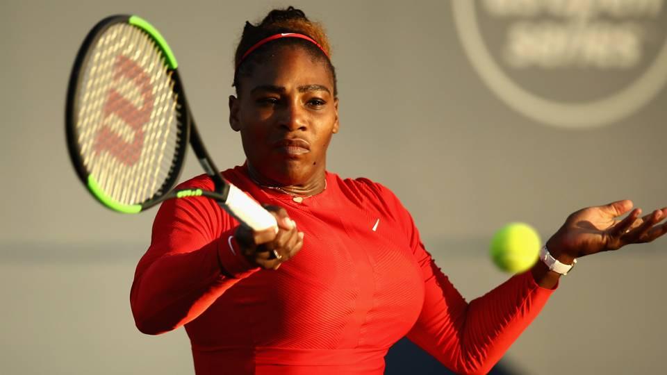 Serena Williams steamrolls Daria Gavrilova in Cincinnati return