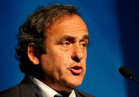 Platini: Uefa could boycott World Cup