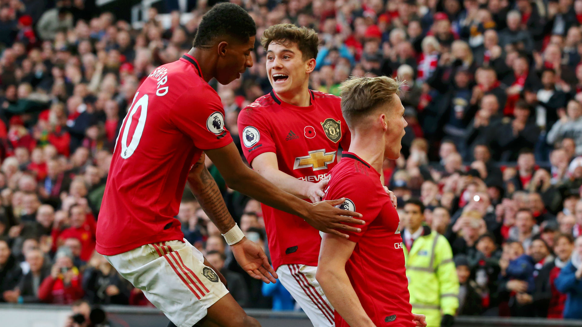 'We could have scored seven or eight' - James encouraged by Man Utd's attacking display