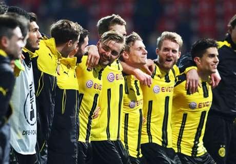 BVB satisfied with Pokal progress