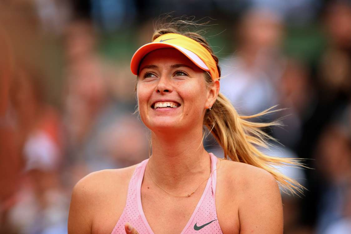 Sharapova 'fortunate' to reach final