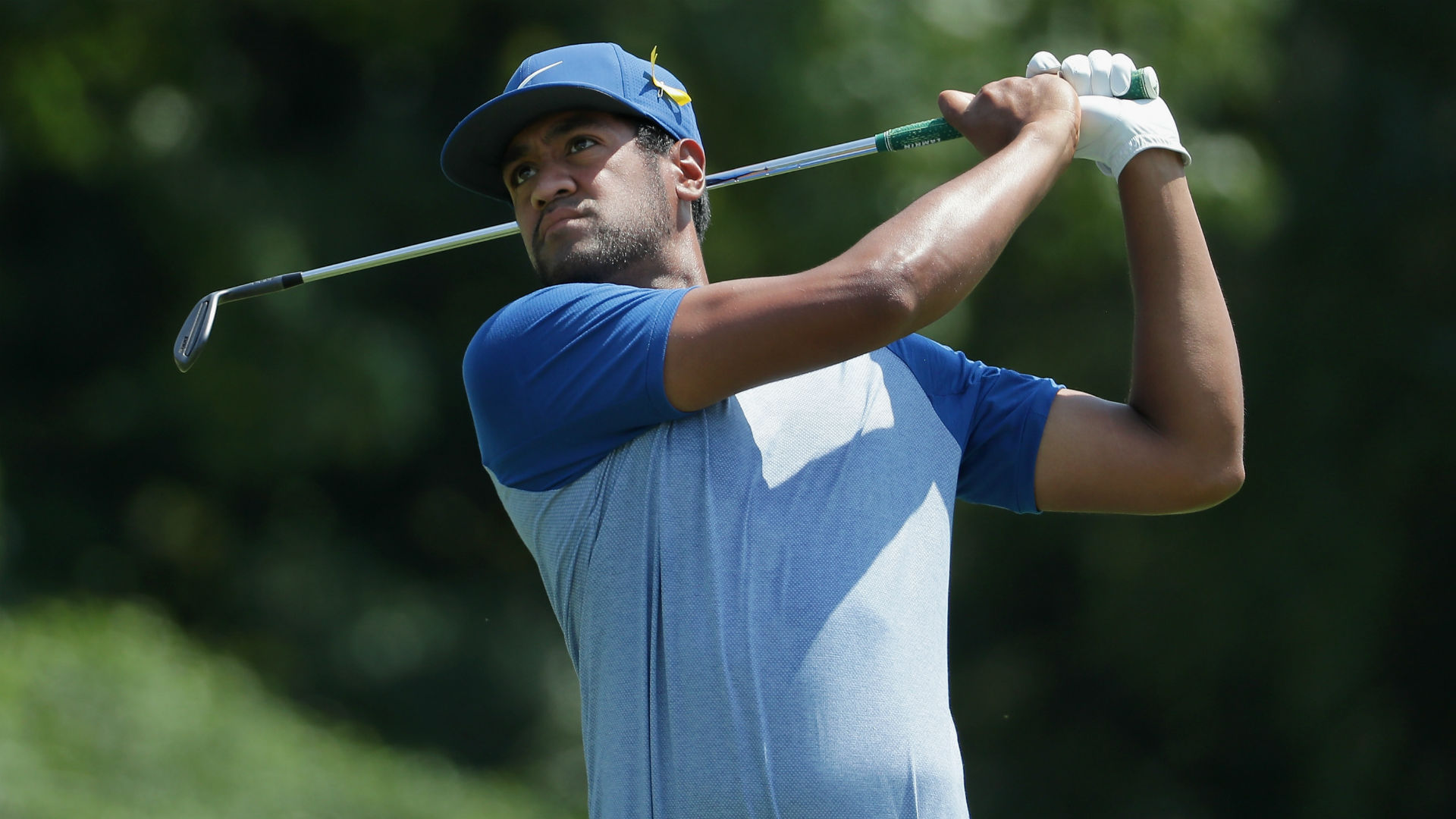 PGA Championship 2018: Tony Finau on fire through front 9 in Round 2