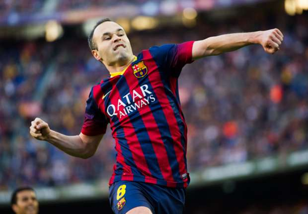 Where it all started at Barcelona for 500-game Iniesta