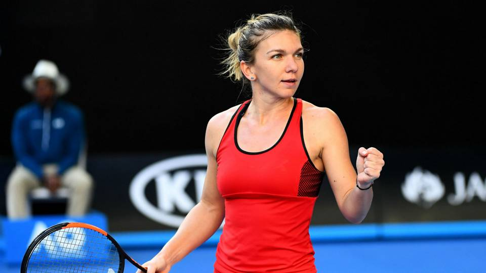 I Had Pain Everywhere Halep Determined To Battle Injury Tennis