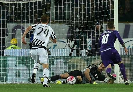 Fiorentina 1-2 Juventus: Brink of glory