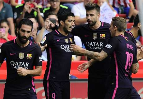 FT: Sporting Gijon 0-5 Barcelona