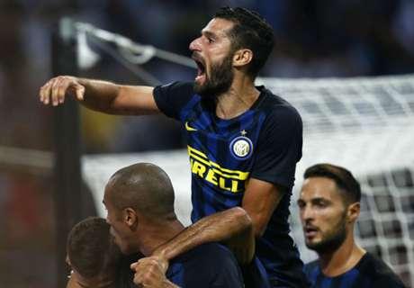 Inter ganó y sube en la tabla