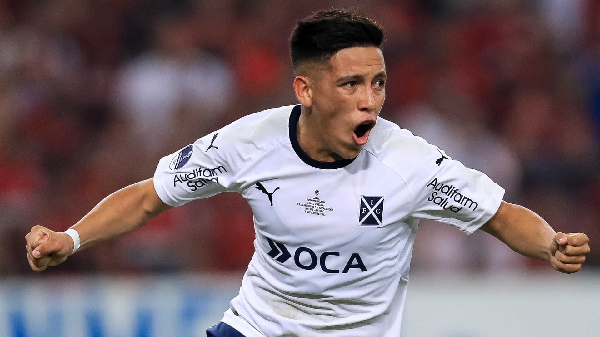 Independiente Bid Ezequiel Barco Farewell